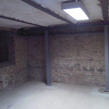 Kellerdeckensanierung